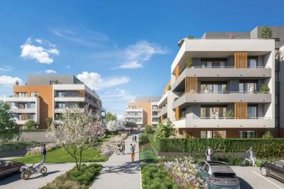 Viladomy Letňany - Central Group zahájil prodej nových bytů nedaleko lesoparku