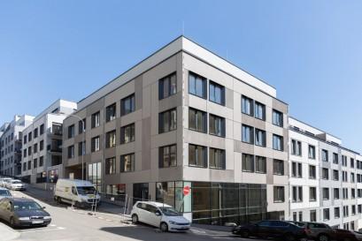 Moderní bydlení Neugraf na Smíchově je zkolaudováno