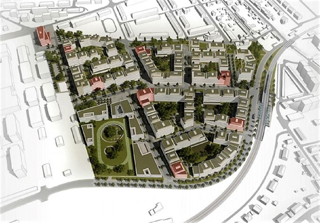 Hlavní architektkou Westpointu, největší nové rezidenční čtvrti v Praze 6, je Eva Jiřičná