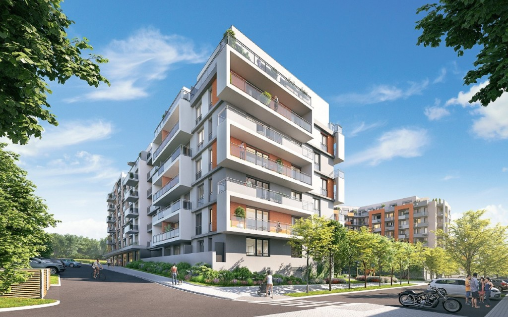 U Hostivařské přehrady byly dány do prodeje na tři stovky nových bytů