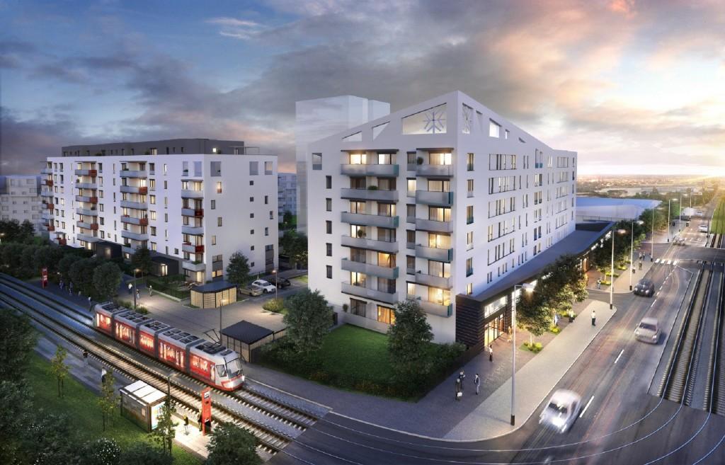 Stovky bytů v Hloubětíně dostaly stavební povolení a již na podzim přijdou do prodeje