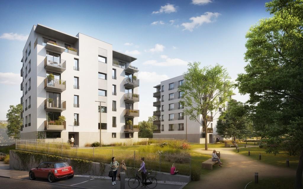 V rámci projektu v Plzni-Škvrňanech vznikne přes 100 nájemních bytů