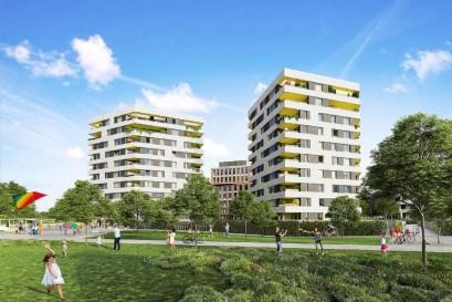 Na Rohanském ostrově vzniká zelené centrum Prahy s bydlením pro 11 000 lidí