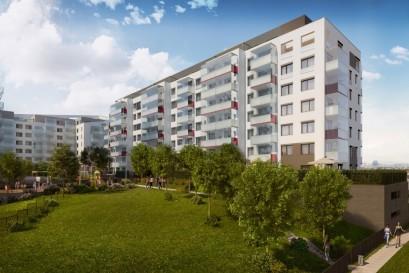 V Hloubětíně přicházejí do prodeje přes dvě stovky nových bytů