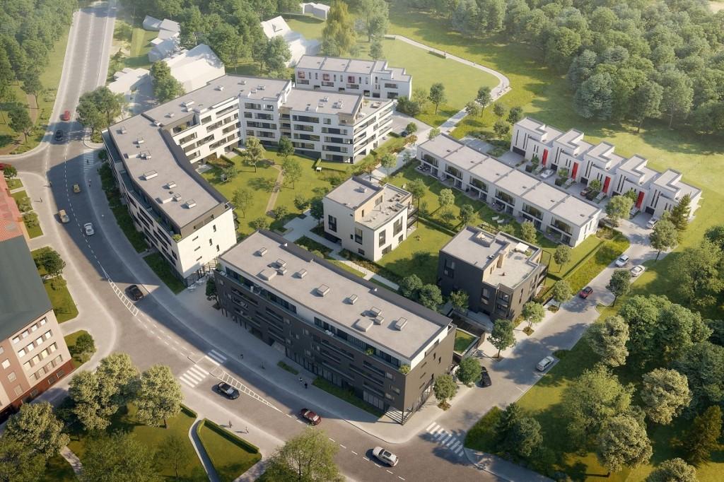 Chytré bydlení Braník byty a rodinné domy Praha 4