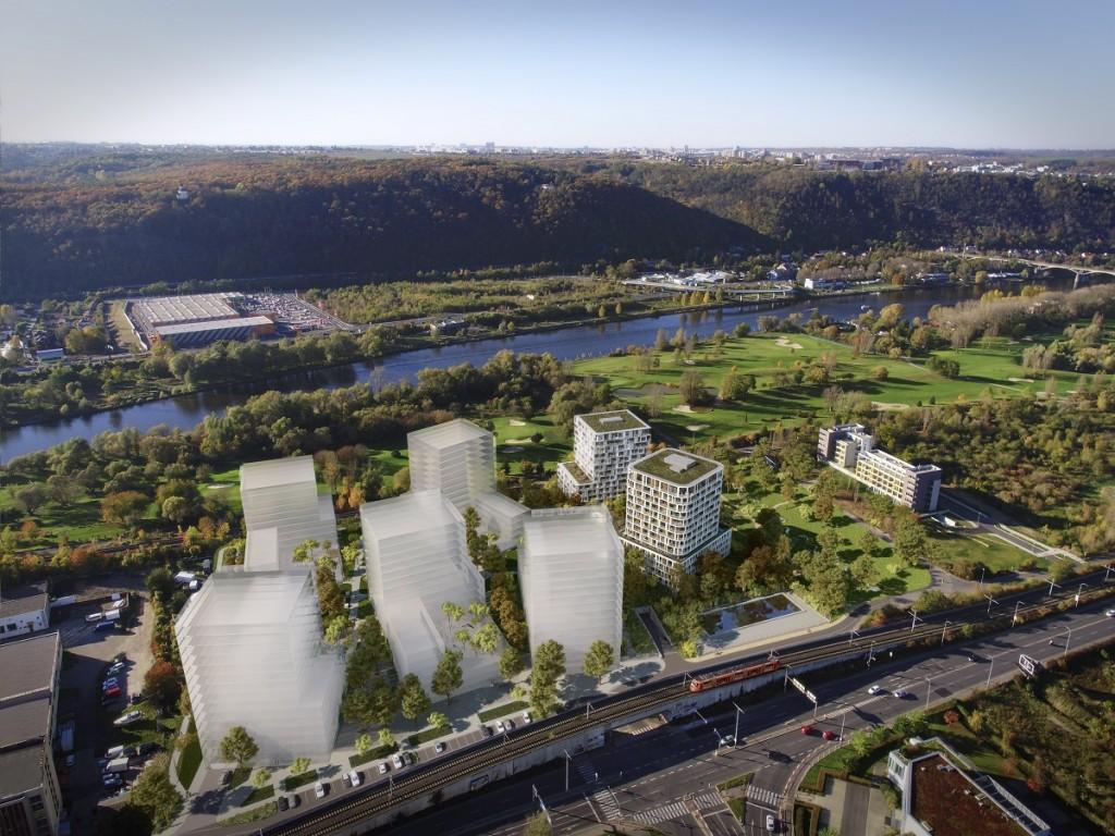 Nové byty u řeky Bydlení Zahálka